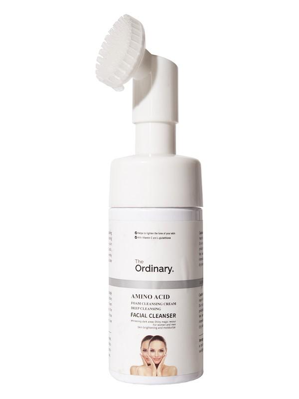 The Ordinary Пенка для умывания с массажной щеточкой Amino Acid Facial Cleanser, 100мл.
