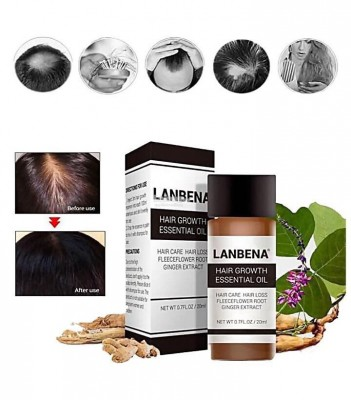 Масло для роста волос Lanbena Hair Growth Essential Oil, 20ml