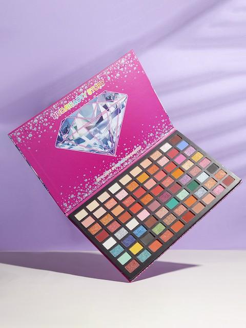 Тени для век  80 colors матовые+сатиновые Diamonds&Ice