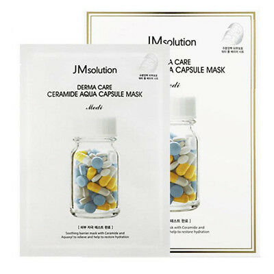 Восстанавливающая маска JM Solution Derma Care Ceramide Aqua Capsule Mask Medi