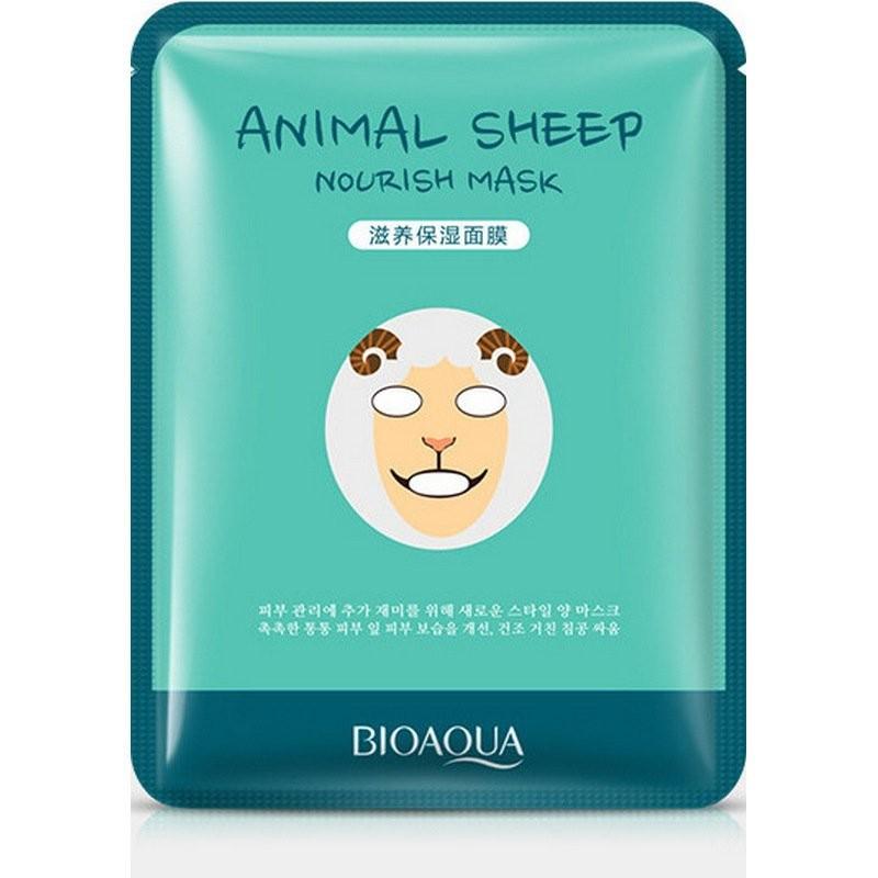BIOAQUA Тканевая Маска для лица Animal Face Sheep 30 g.