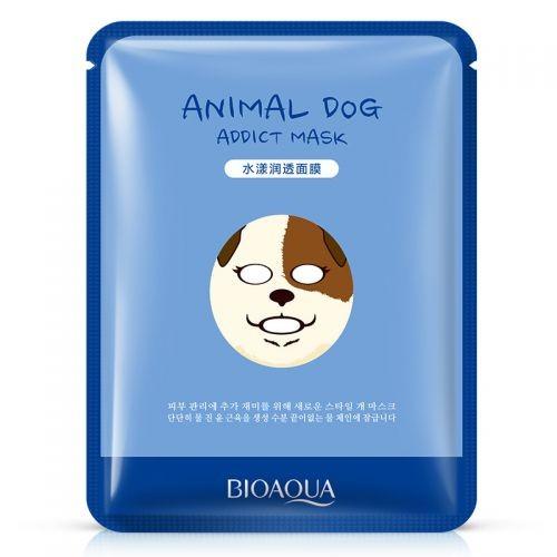 Bioaqua Маска  для лица Собака увлажняющая Animal Dog Mask (30г)
