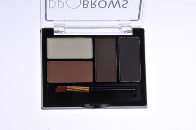 Тени для бровей с воском  Pro Brows Powder With Wax(02)