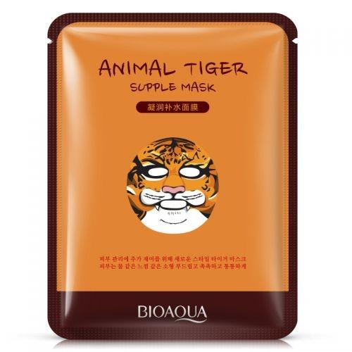 Bioaqua  Маска  для лица Тигр питательная  Animal Tiger Mask (30г)