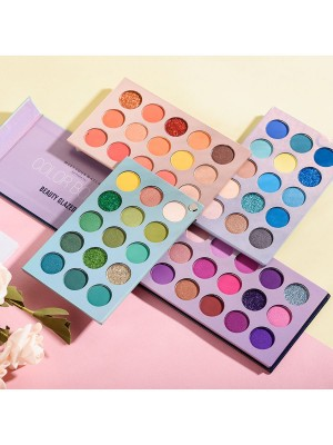 Beauty Glazed  Тени для век Color board 4 в 1 Beauty Glazed