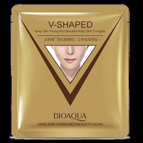 BioAqua V-Shaped Экспресс-лифтинг маска для омоложения лица и шеи