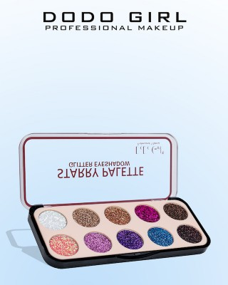 Глиттер для век DoDo Girl Starry Palette, 03