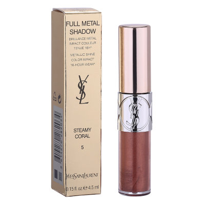 Жидкие тени для век Yves Saint Laurent Full metal Shadow(STEAMY CORAL)5