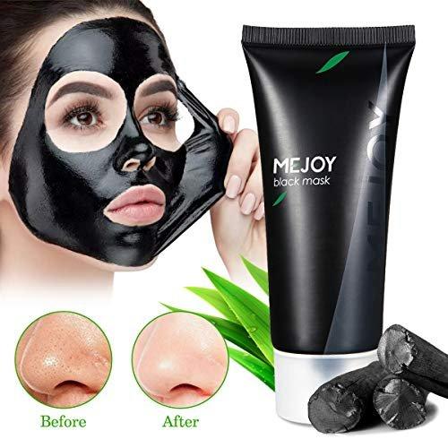 Угольная отшелушивающая черная маска MEJOY
