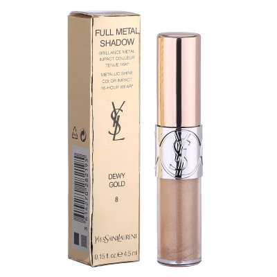 Жидкие тени для век Yves Saint Laurent Full metal Shadow (DEWY GOLD)8
