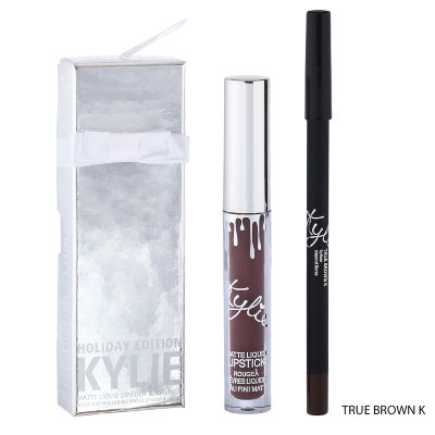 Блеск для губ Kylie Holiday Edition( TRUE BROWN K)